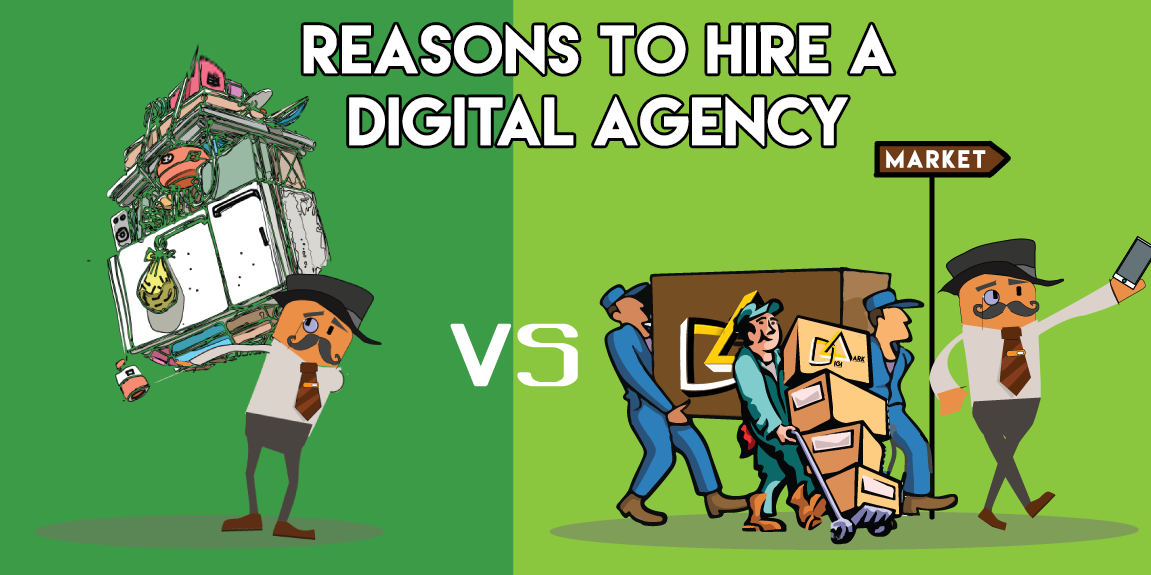 Five reason you should hire a digital marketing agency for your next online campaign | DIgiaark| Digital marketing Agency in delhi