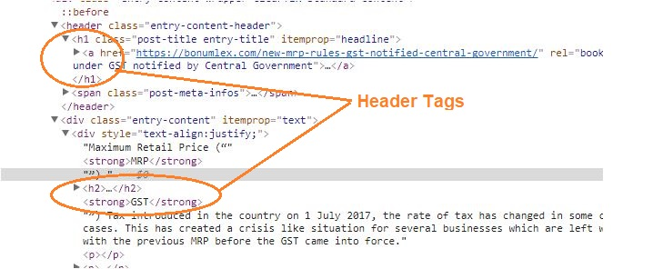 head tags in on page seo - Aigi Aark
