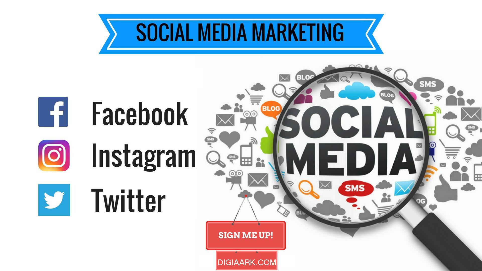 social media marketing, digiaark